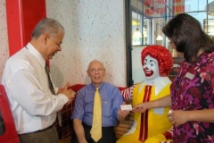 Chaplain Care for Restaurants / Robert Lucero - McDonalds